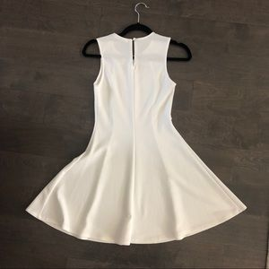 humble chic Dresses - White Skater Dress Flare